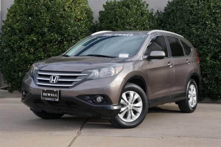 Used 2013 Honda CR-V EX-L SUV For Sale in Dallas, TX