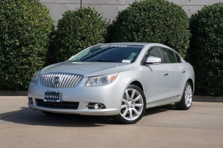 Used 2012 Buick Lacrosse Touring Sedan For Sale in Dallas, TX