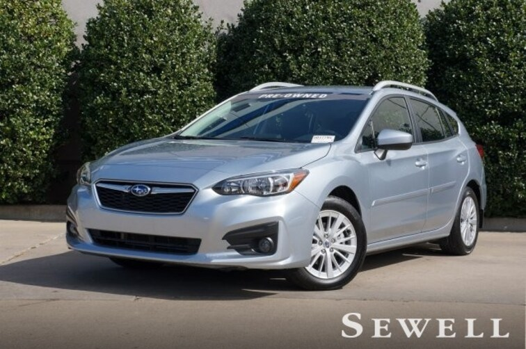 Certified 2018 Subaru Impreza Premium Hatchback For Sale in Dallas, TX