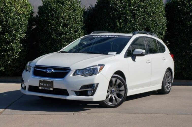 Certified 2015 Subaru Impreza Wagon 2.0i Sport Premium Hatchback For Sale in Dallas, TX