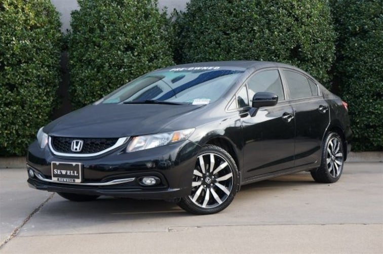Used 2015 Honda Civic Sedan EX-L Sedan For Sale in Dallas, TX