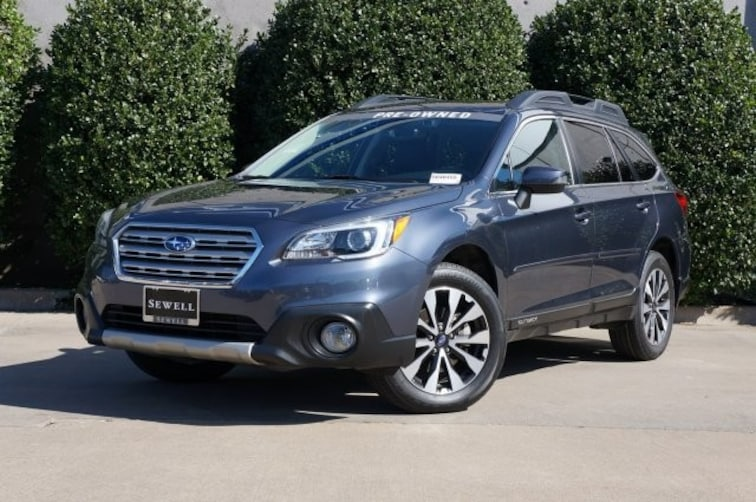 Certified 2017 Subaru Outback Limited SUV For Sale in Dallas, TX