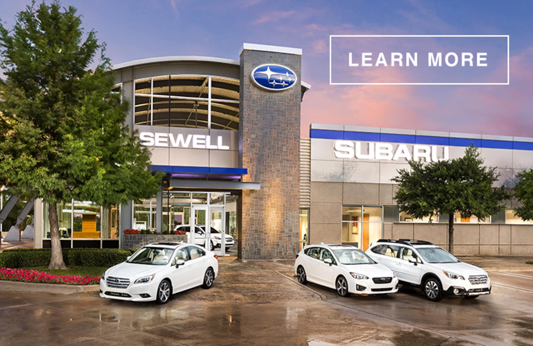 Sewell Subaru - Dallas New 2019 & Used Subaru Dealership