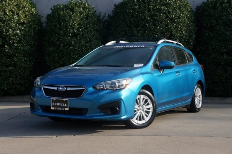 Certified 2017 Subaru Impreza Premium Hatchback For Sale in Dallas, TX