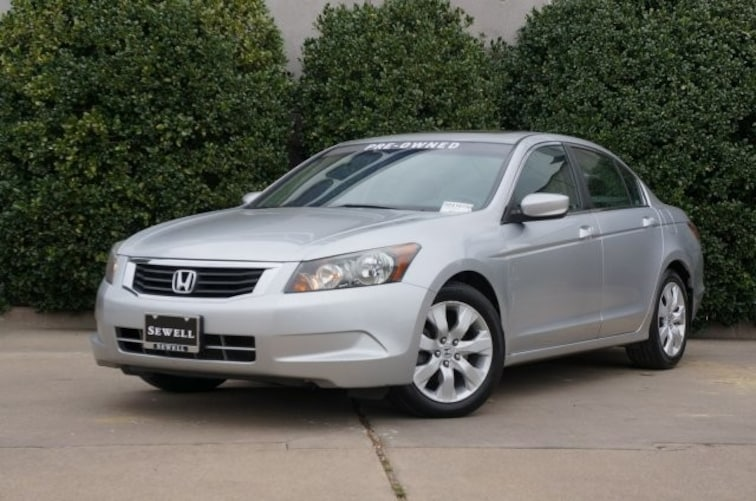Used 2009 Honda Accord Sdn EX-L Sedan For Sale in Dallas, TX