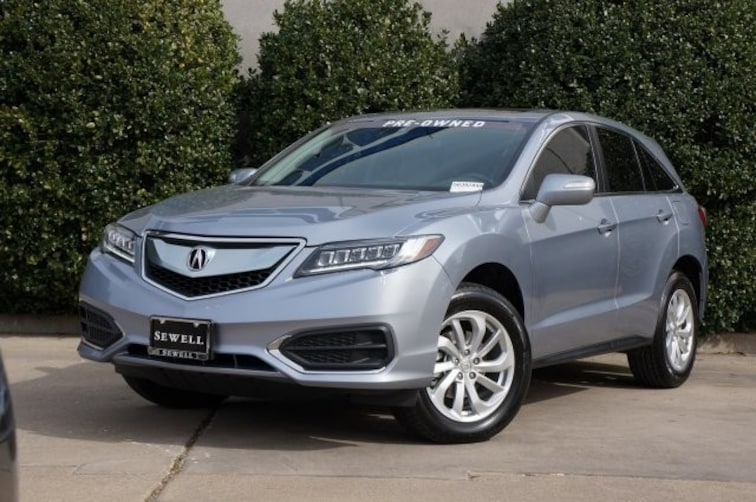 Used 2016 Acura RDX SUV For Sale in Dallas, TX