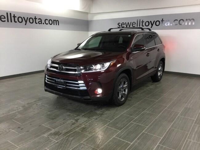 2017 Toyota Highlander Limited Platinum SUV