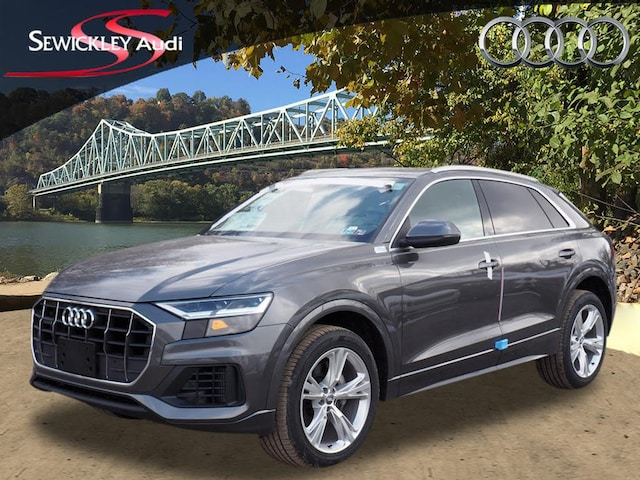 New 2019 Audi Q8 3.0T Quattro Premium AWD 3.0T quattro Premium  SUV for sale near Pittsburgh, PA