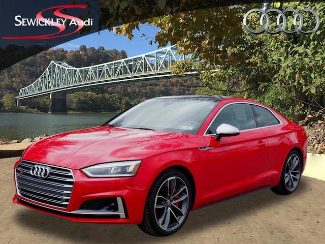 New 2018 Audi S5 3.0T Quattro Prestige AWD 3.0T quattro Prestige  Coupe for sale near Pittsburgh, PA