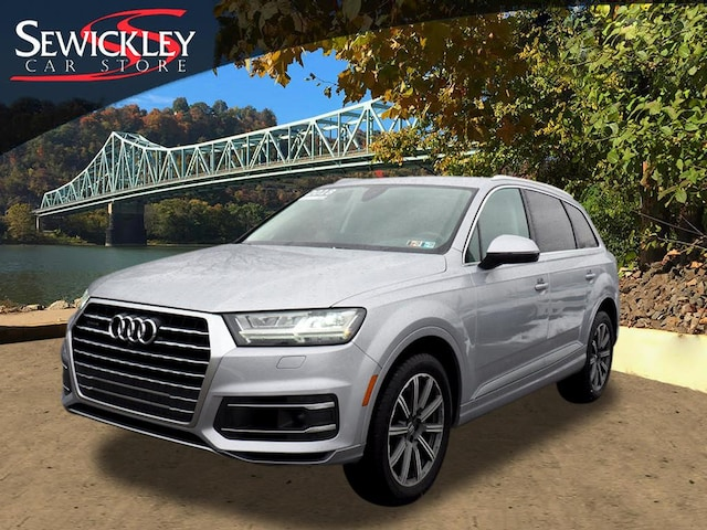 Certified 2018 Audi Q7 3.0T Premium SUV near Pittsburgh