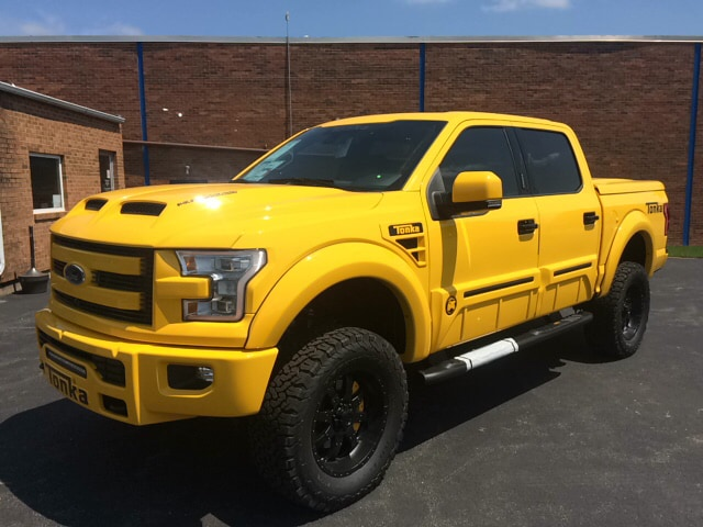 Ford F150 Wheels And Tires >> 2016 Ford F-150 Tuscany Tonka Truck | Sexton Ford of Moline, IL