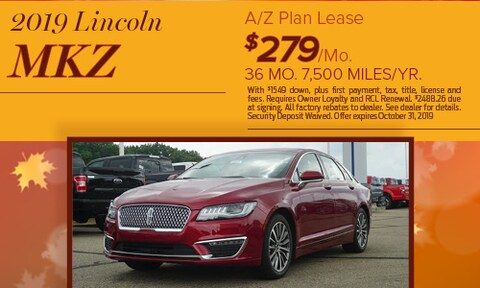 2019 Lincoln MKZ Lease