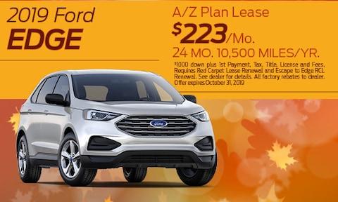 2019 Ford Edge Lease