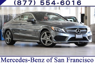 Pre-Owned 2017 Mercedes-Benz C-Class C 300 2D Coupe Coupe in San Francisco, CA