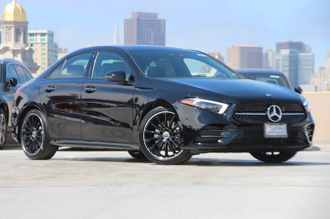 Mercedes San Francisco >> 2019 New Mercedes Benz A Class For Sale San Francisco Bay Area