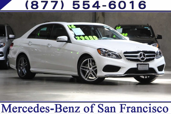 2016 Mercedes-Benz E-Class Sedan