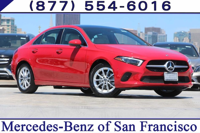 Mercedes Benz San Francisco >> 2019 New Mercedes Benz A Class For Sale San Francisco Bay Area