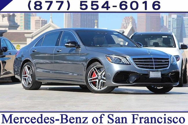 Mercedes Benz San Francisco >> 2019 New Mercedes Benz Amg S 63 For Sale San Francisco Bay Area