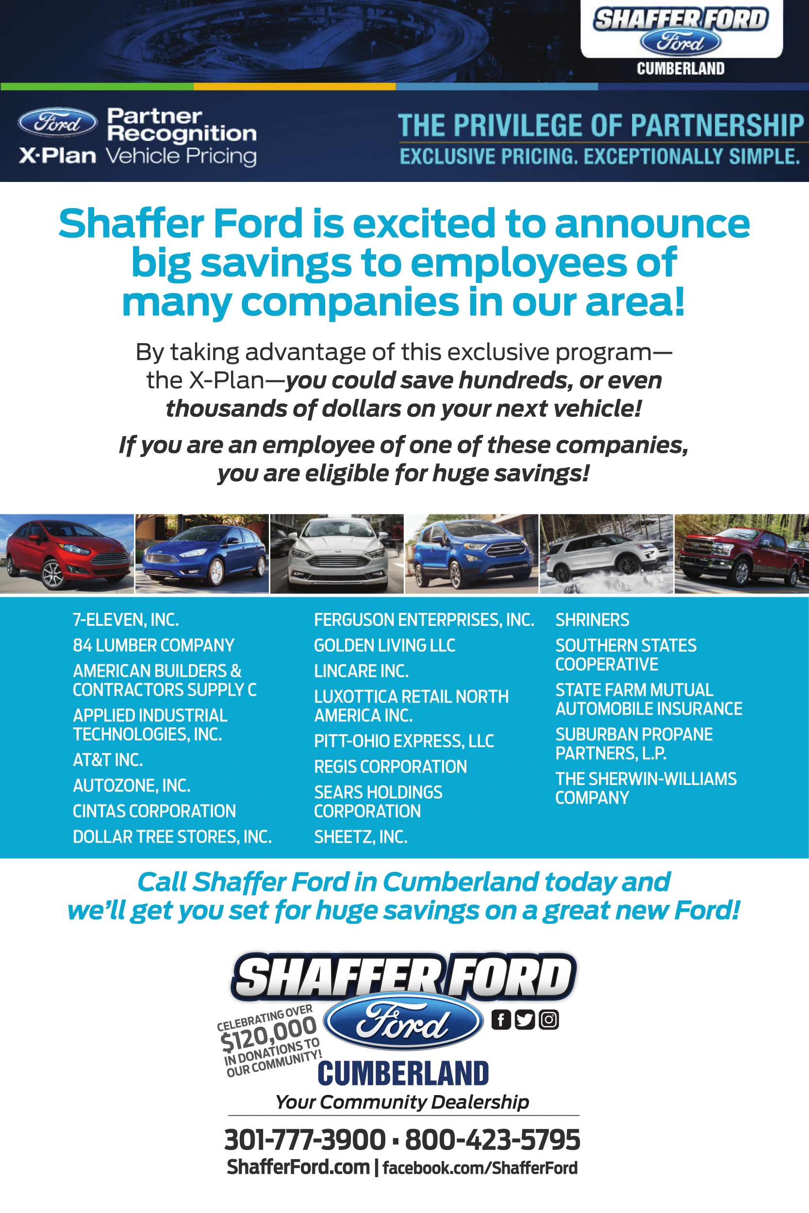X Plan Vehicle Pricing Shaffer Ford Shaffer Ford