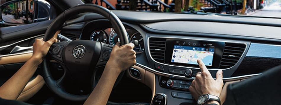 Connected Navigation - OnStar Hands