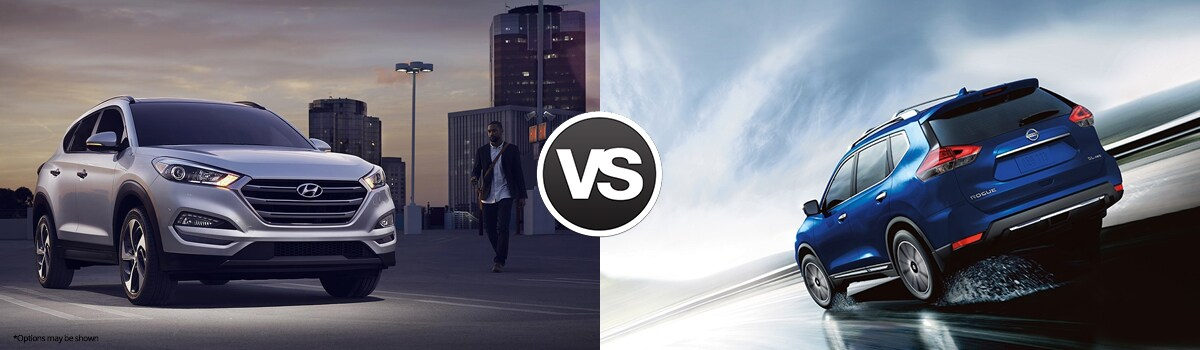 compare 2018 hyundai tucson vs nissan rogue watertown ct. Black Bedroom Furniture Sets. Home Design Ideas