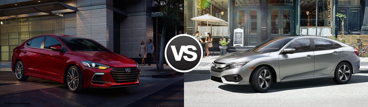 2018 Hyundai Elantra vs Honda Civic