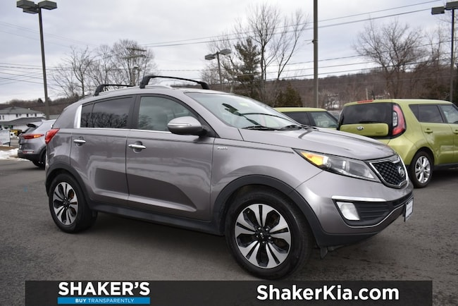 Used 2011 Kia Sportage SX SUV in Watertown, CT