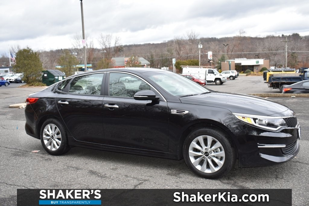 Certified Used 2018 Kia Optima LX Sedan Waterbury, Connecticut