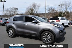 Certified used 2017 Kia Sportage EX SUV in Watertown, CT
