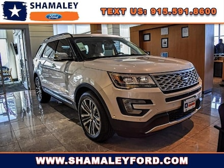 2017 Ford Explorer Platinum SUV