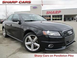 Used 2012 Audi A4 2.0T Premium Plus Sedan S2928 for sale in Indianapolis, IN