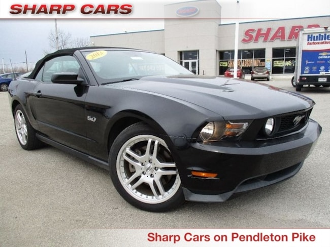 Used 2012 Ford Mustang GT Premium Convertible in Indianapolis, IN