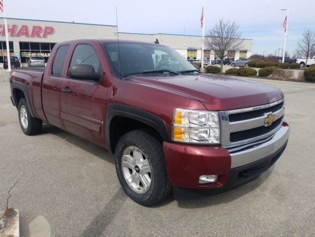 Used 2008 Chevrolet Silverado 1500 LT Truck in Indianapolis, IN