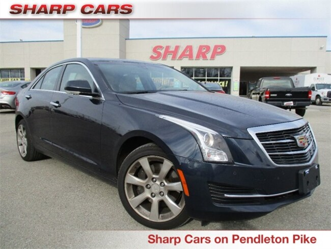 Used 2015 Cadillac ATS 2.0L Turbo Luxury Sedan in Indianapolis, IN
