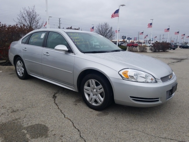 Used 2014 Chevrolet Impala Limited LT Sedan in Indianapolis, IN