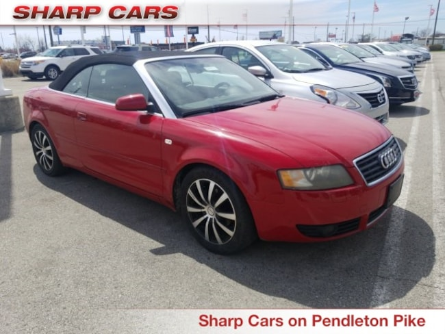 Used 2005 Audi A4 1.8T Cabriolet Convertible in Indianapolis, IN