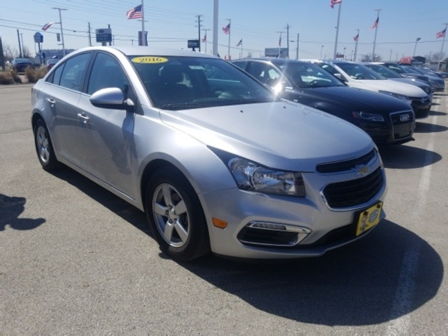 Used 2016 Chevrolet Cruze Limited 1LT Sedan in Indianapolis, IN