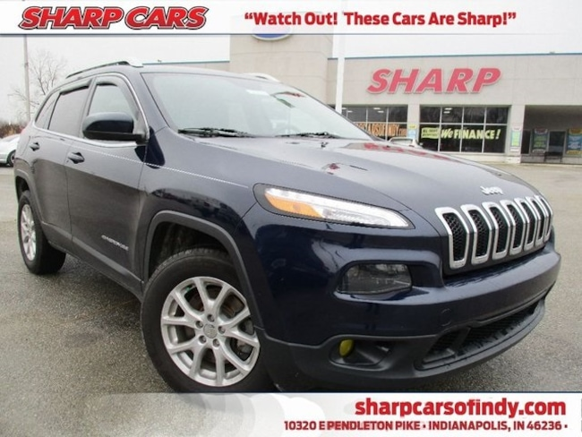 Used 2015 Jeep Cherokee Latitude SUV in Indianapolis, IN