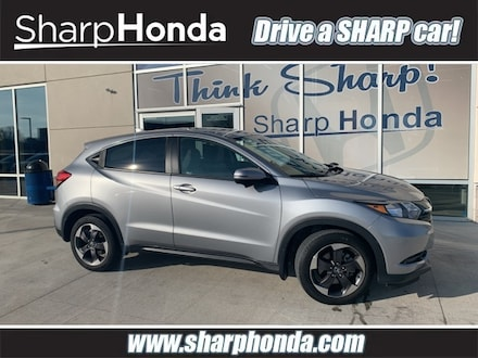Featured Pre Owned 2018 Honda HR-V EX AWD SUV for sale near you in Topeka, KS