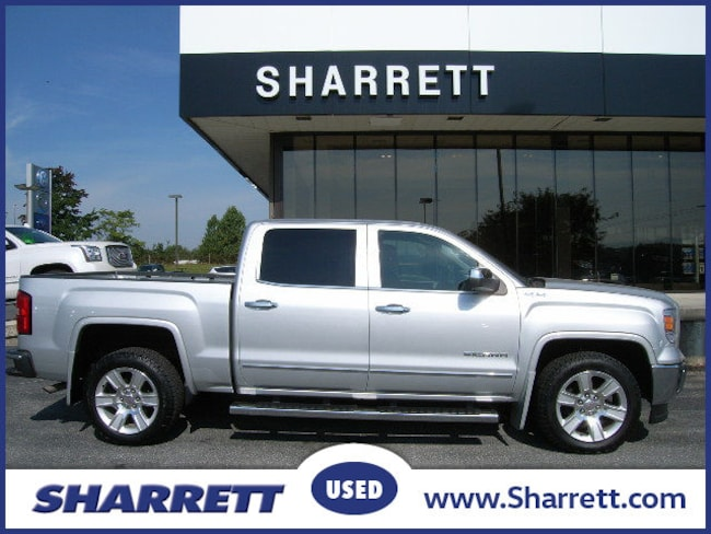 Certified Pre-Owned 2014 GMC Sierra 1500 SLT Truck Crew Cab for sale in Hagerstown, MD