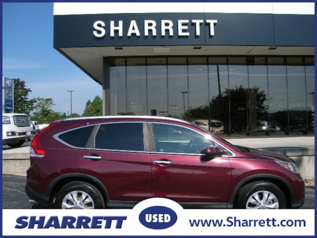 Used 2012 Honda CR-V EX-L AWD SUV for sale in Hagerstwon, MD