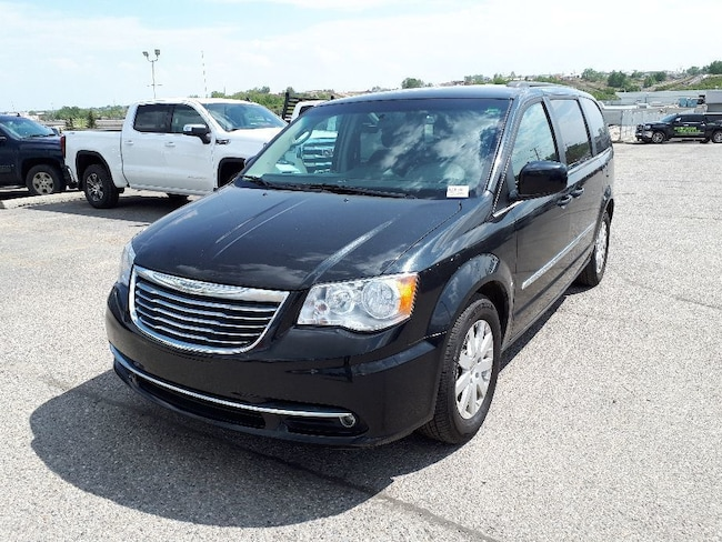 2014 Chrysler Town & Country Touring | Cloth | 3 Zone Climate | Power Liftgate Van Passenger Van