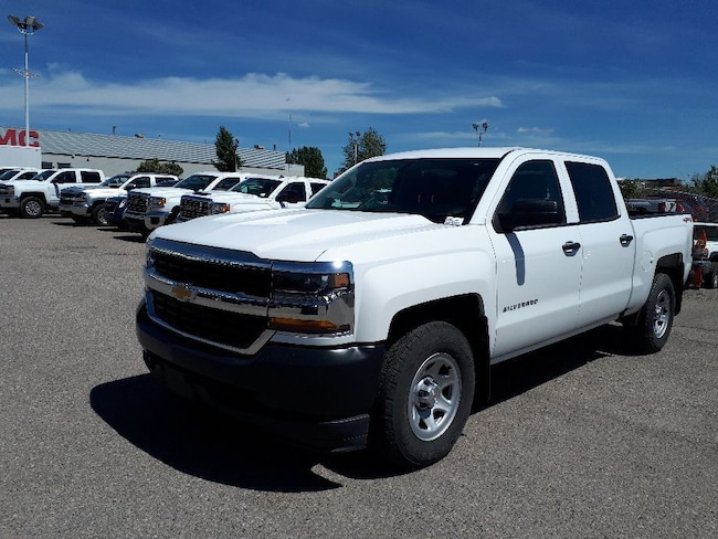2018 Chevrolet Silverado 1500 WT | 7 Screen | 5.3L | Spraybed Liner Truck Crew Cab