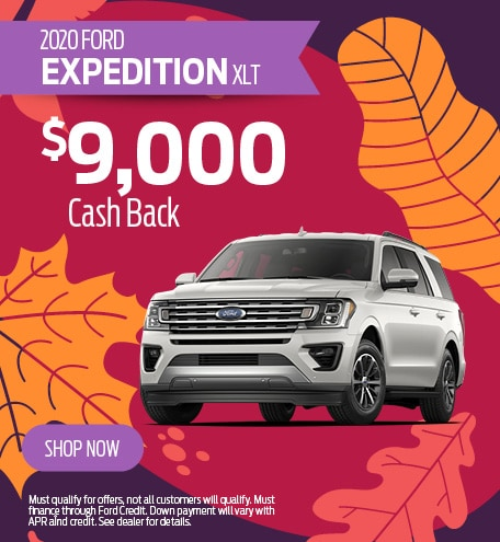 2020 Expedition Cash