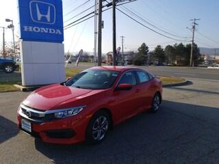 New 2018 Honda Civic LX Sedan 2HGFC2E51JH513192 for sale in Rutland, VT at Shearer Honda