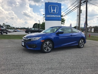 New 2017 Honda Civic EX-T Coupe 2HGFC3B33HH358227 for sale in Rutland, VT at Shearer Honda