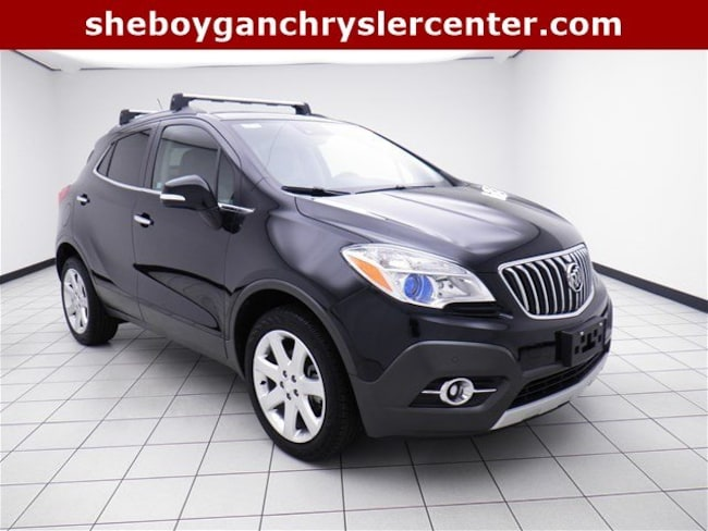Used 2015 Buick Encore Premium SUV For Sale in Sheboygan, WI
