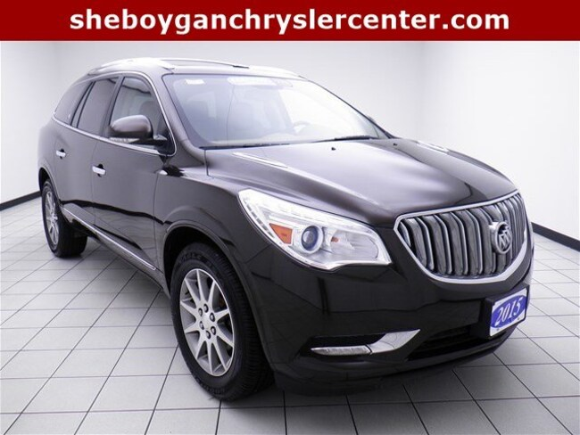 Used 2015 Buick Enclave Leather SUV For Sale in Sheboygan, WI