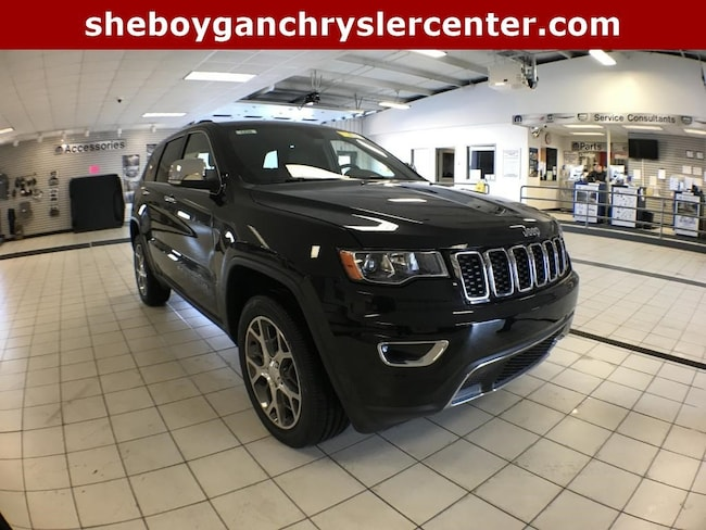 New 2019 Jeep Grand Cherokee LIMITED 4X4 Sport Utility For Sale in Sheboygan, WI