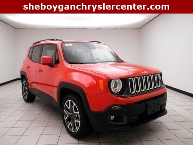 New 2018 Jeep Renegade LATITUDE 4X2 Sport Utility For Sale in Sheboygan, WI